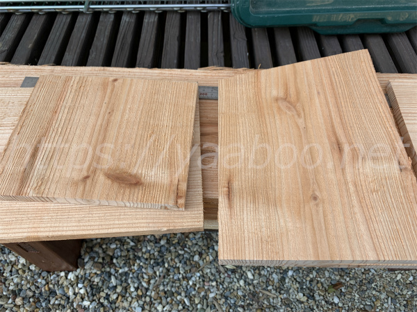 シジュウカラの巣箱の作り方