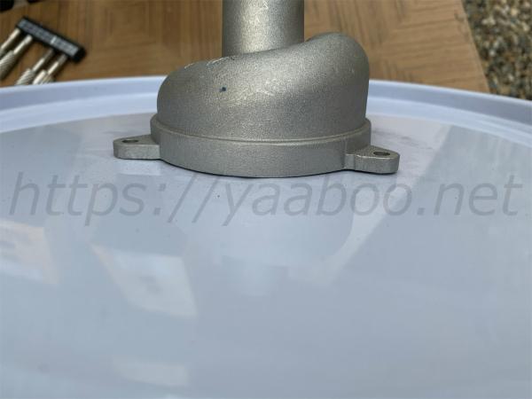 ペール缶のふたの加工方法